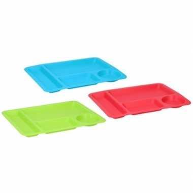 Goedkope x groene borden/dienbladen vakken