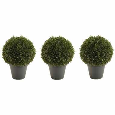 Goedkope x groene buxus bal kunstplanten