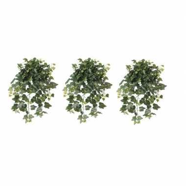 Goedkope x groene hedera helix/klimop kunstplant buiten
