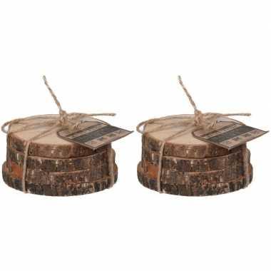 Goedkope x houten onderzetters