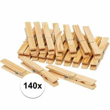 Goedkope x houten wasknijpers