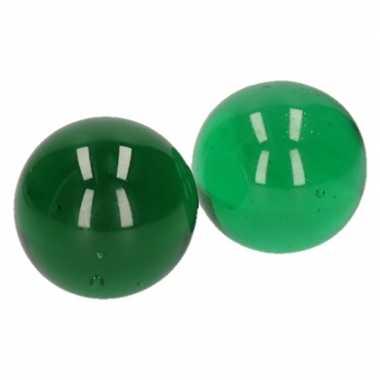Goedkope x knikkers groen