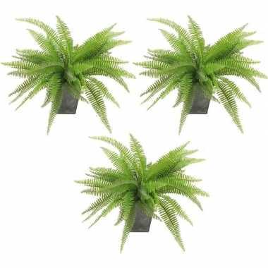 Goedkope x kunstplanten varen groen pot