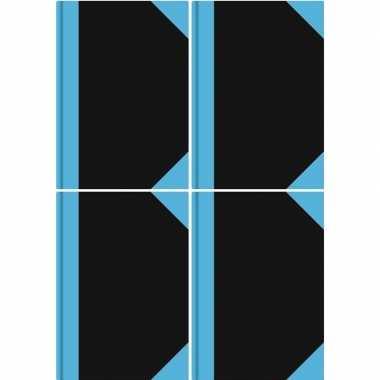 Goedkope x luxe schriften zwart a formaat gelinieerd/lijntjes