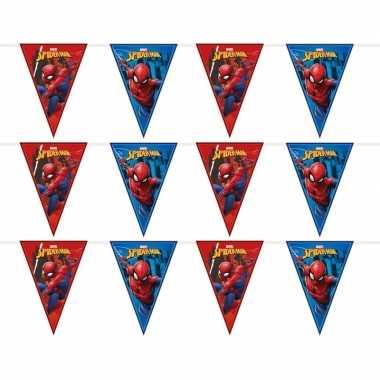 Goedkope x marvel spiderman themafeest vlaggenlijnen