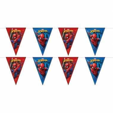 Goedkope x marvel spiderman themafeest vlaggenlijnenen