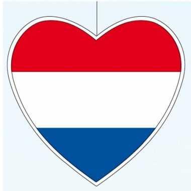 Goedkope x nederland hangdecoratie hart