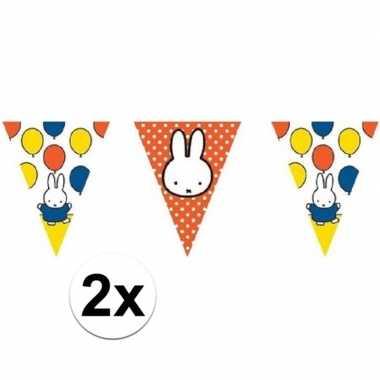Goedkope x nijntje vlaggenlijnen versiering meter