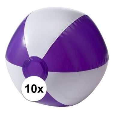 Goedkope x opblaasbare speelgoed strandballen paars