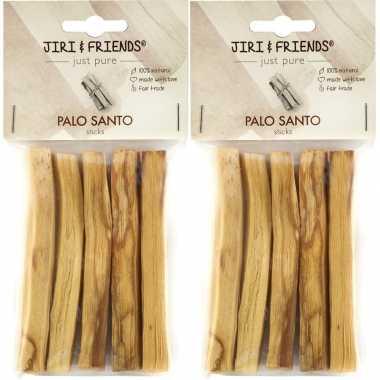 Goedkope x pakje jiri and friends palo santo/heilig hout stokjes