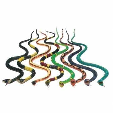 Goedkope x plastic speelgoed dieren slangen