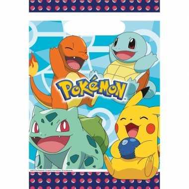 Goedkope x pokemon themafeest uitdeelzakjes