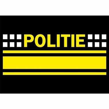 Goedkope x politie logo sticker .