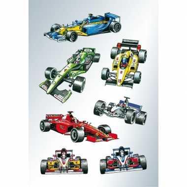 Goedkope x raceauto/formule stickers