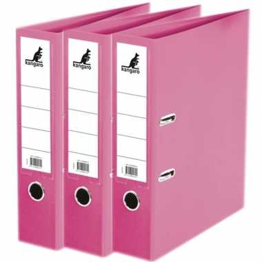Goedkope x ringband mappen/ordners roze mm a