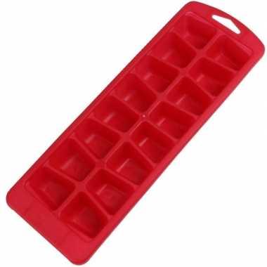 Goedkope x rode ijsblokjes vorm flexibel ijsklontjes