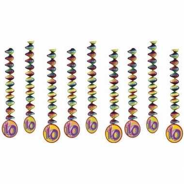 Goedkope x rotorspiralen jaar versiering feestartikelen