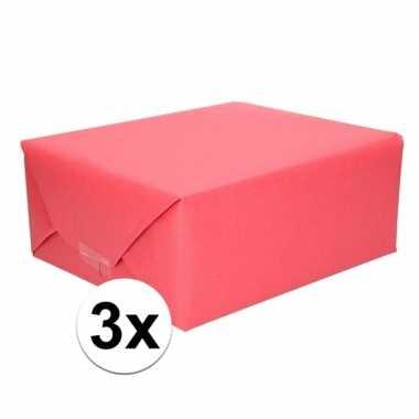 Goedkope x schoolboeken kaftpapier rood rollen