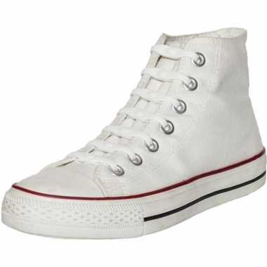Goedkope x shoeps elastische veters wit kinderen/volwassenen