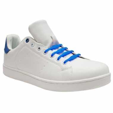 Goedkope x shoeps xl elastische veters kobalt blauw brede voeten