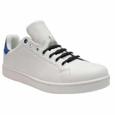 Goedkope x shoeps xl elastische veters navy blauw brede voeten volw