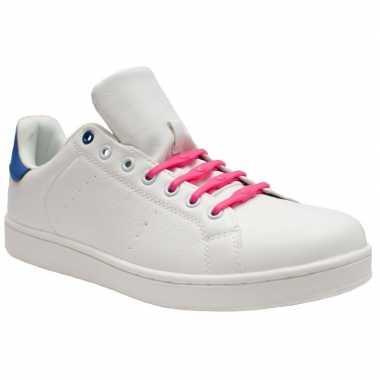 Goedkope x shoeps xl elastische veters roze brede voeten volwassene