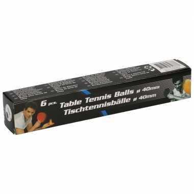 Goedkope x speelgoed tafeltennis/ping pong balletjes wit