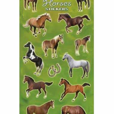 X stickervelllen grote paarden goedkopes