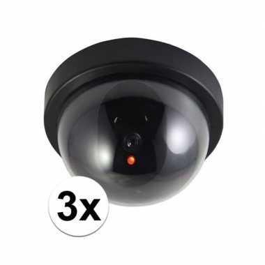 Goedkope x stuks dummy beveiligingscameras led