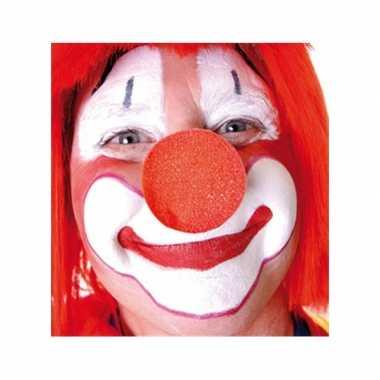 Goedkope x stuks rode clowns neus/neuzen foam