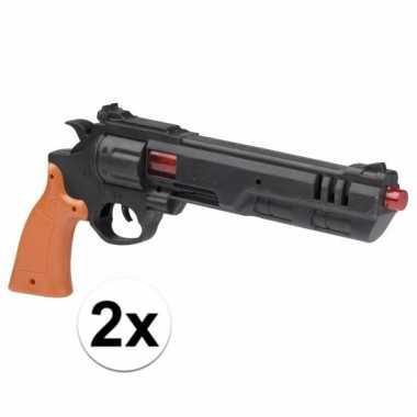 Goedkope x stuks speelgoed dirty harry politie pistolen