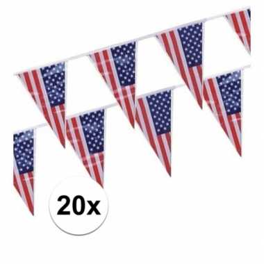 Goedkope x stuks vlaggenlijnen amerika/usa