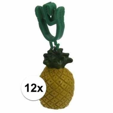 Goedkope x tafelkleedgewichtjes ananas