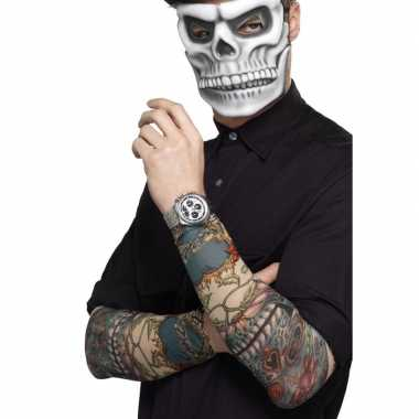 Goedkope x tattoo sleeves day of the dead volwassenen