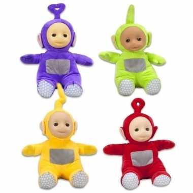 Goedkope x teletubbies speelgoed knuffels/poppen set
