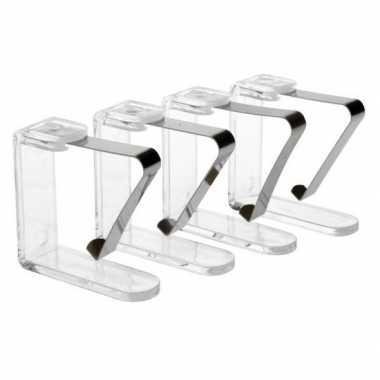Goedkope x transparante tafelkleed klemmen
