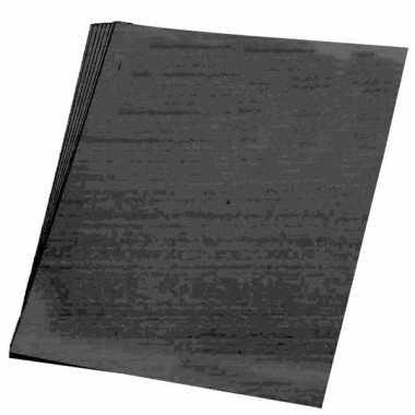 Goedkope x vellen zwart karton