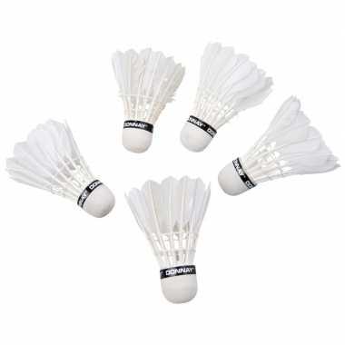 Goedkope x veren badminton shuttles wit