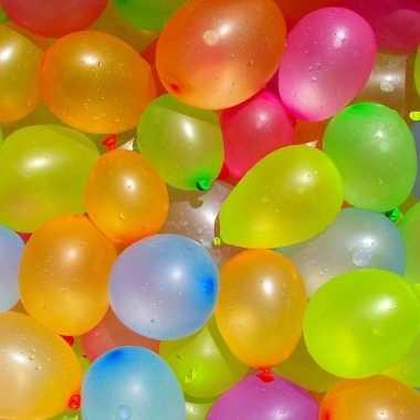 Goedkope x waterballonnen/waterbommen setje pomp hulpstuk