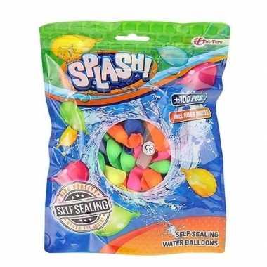Goedkope x zelfsluitende waterballonnen gekleurd