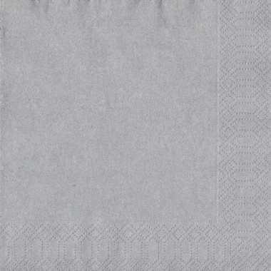Goedkope x zilveren servetten