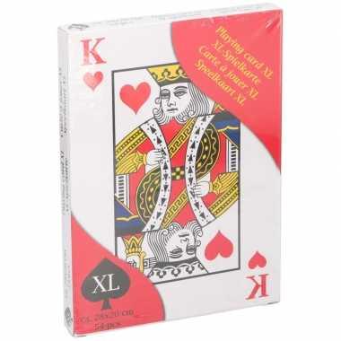 Goedkope xl speelkaarten