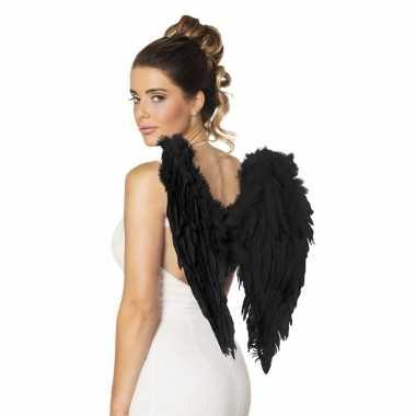 Goedkope zwarte engelen vleugels