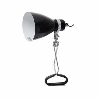 Goedkope zwarte klemlamp