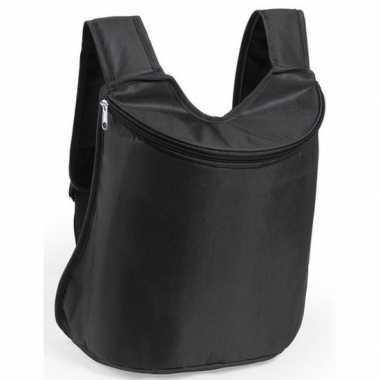 Goedkope zwarte koeltas rugzak liter