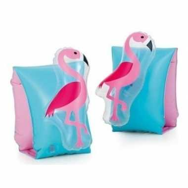 Zwembandjes/zwemvleugels d flamingo goedkope