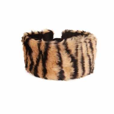 Haarband pluche tijger dieren goedkope dames