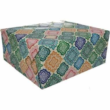 Inpakpapier floral goedkope rol type