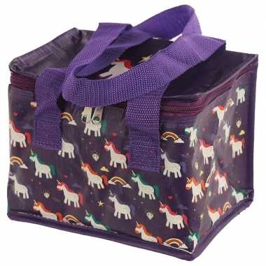 Kleine koeltas eenhoorn/unicorn goedkope paars , liter
