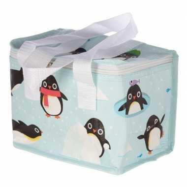 Kleine koeltas pinguin goedkope blauw , liter